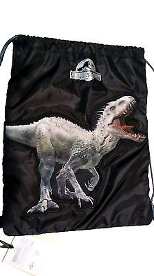 Zaino Sacca Zainetto Jurassic World Nuovo Originale New Original