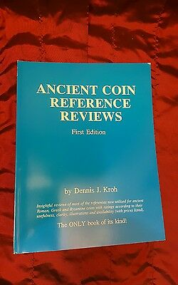 Ancient Coin Reference Reviews: Dennis J. Kroh first 1993 new