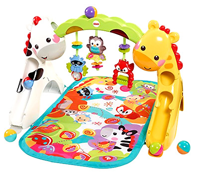 Newborn Toddler Gym Play Mat Fun Boy Girl Baby Gift Developmental Activities Toy