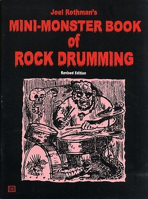 Joel Rothman's Mini-Monster Book Of Rock Drumming (Revised.... Drums Sheet Music