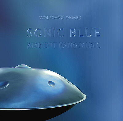 "CD ""Sonic Blue"" - Ambient Hang/Handpan Music"