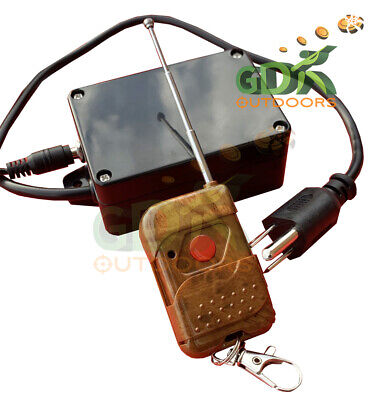 GDK 70m WIRELESS REMOTE CONTROL FOR CLAY PIGEON MACHINE, TRAP RELEASE, 70 meter