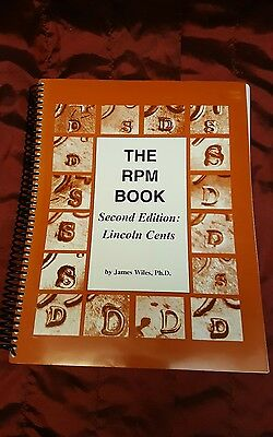The RPM Book, Wiles. Lincoln Cents, Second Edition. New 1997