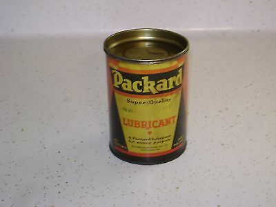 "Vintage 1930's-40's ""Packard"" Water Pump Lubricant Tin-1 Pound"