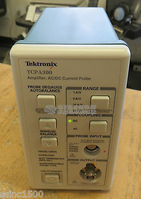 Tektronix TCPA300 AC/DC Current Probe Amplifier