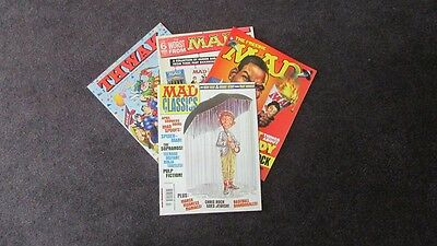 Mad Classics Worst From Mad Thwak Magazines Lot Of 4