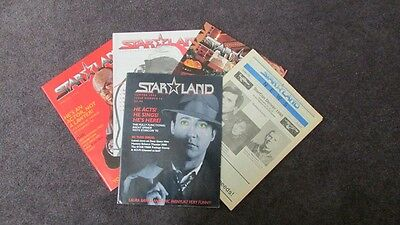Starland Magazines Lot Of 5