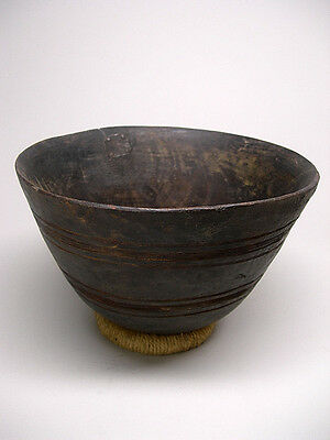 A Fine TUAREG WOODEN BOWL From Mali ~ EXCEPTIONAL FORM!!!