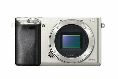 Sony Alpha a6000 24.3 MP Mirrorless Digital Camera (Body Only, Silver)