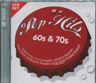 POP HITS OF THE 60S & 70S - VARIOUS ARTISTS on 2 CD's