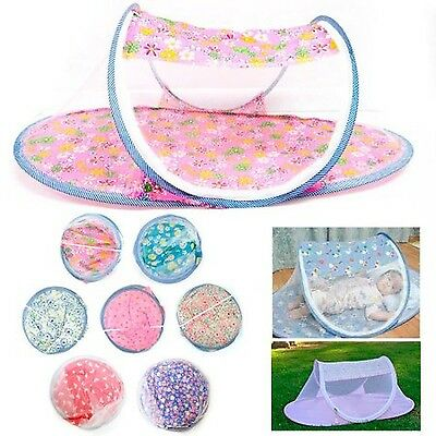 Portable Foldable Baby Mosquito Tent Travel Infant Bed Net Instant Crib New !