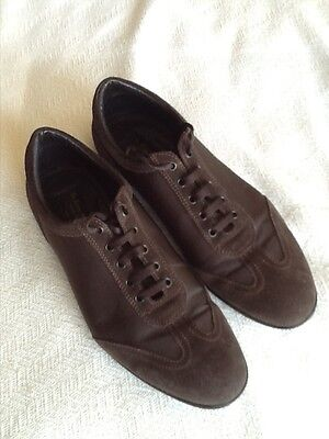 "Mens brown ""To Boot New York"" casual shoes size 9"
