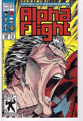 Alpha Flight #106 March 1992 Comic Book Northstar Comes Out Gay Character LGBT