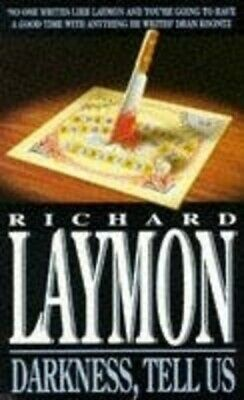 Darkness, tell us by Richard Laymon (Paperback)