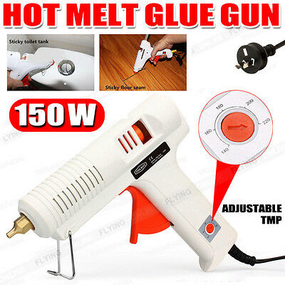 150w Glue Gun Electric Heating Craft Hot Melt Glue Gun Adjustable Temperature