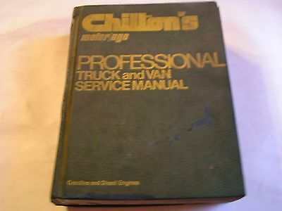 1976 Chilton's Motor Age Truck & Van Service Manual Professional