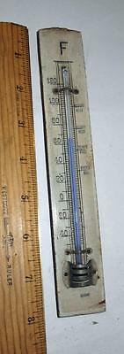 Vintage Pre War Wooden Thermometer Made In Germany