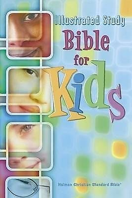 HCSB Illustrated Study Bible for Kids, Brown Simulated Leather by Holman Bible