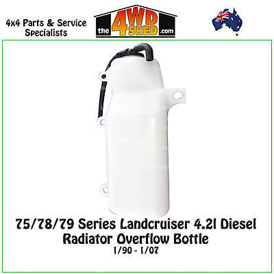 Radiator Overflow Bottle fit 75 / 78/ 79 Series Toyota Landcruiser 4.2l Diesel