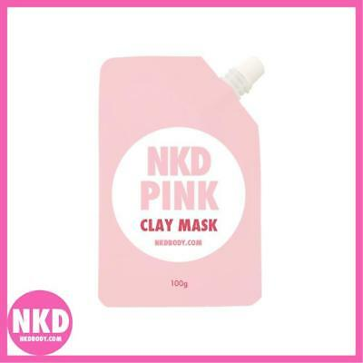 NKD BODY - PINK CLAY MASK - 80g - Australian Made & Owned with Love