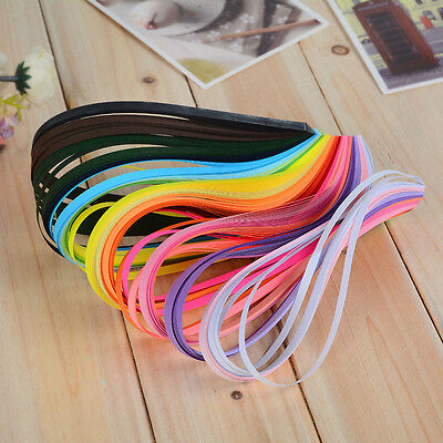 260 Stripes 26 Colors Paper Quilling Paper DIY Crimper Tool Lots Width Available
