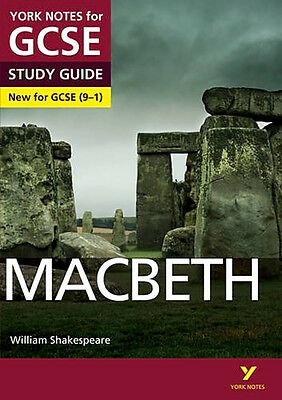 Macbeth: York Notes for GCSE Revision Book Study Guide (9-1) NEW