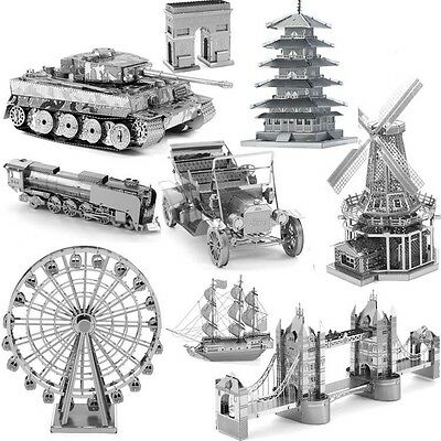 3D Miniature Models Kits Metal Assembled Puzzle Star Wars Laser Cut DIY Toy Gift