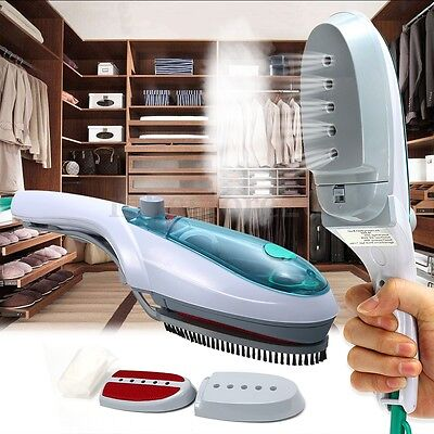 Portable Handheld Electric Iron Steam Brush Fabric Laundry Clothes Home Travel