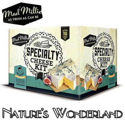 SPECIALTY CHEESE KIT suits intermediate makers, Stilton Camembert etc-Mad Millie