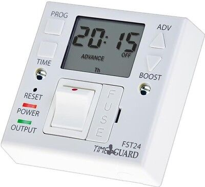 Timeguard 24hr Electronic Timer Switch & Fused Spur Immersion Heating  FST24