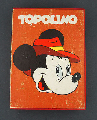 1960's Mickey Mouse Italian Topolino Character Watch in Original Box