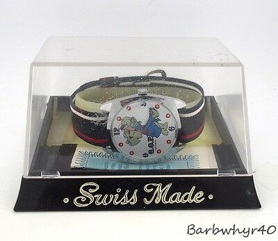 Vintage 1970 REPUBLICAN Political Character Watch by Dirty Time Co. in Box