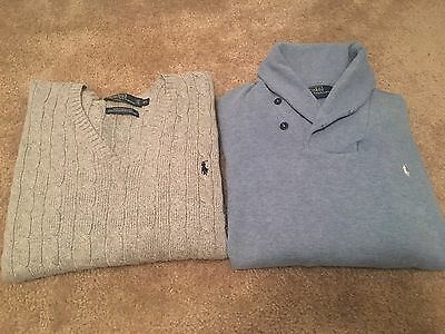 Mens Ralph Lauren Polo Sweater Lot Size XL