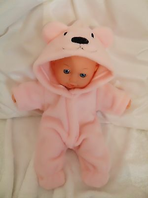 "12"" Onesie Dolls Clothes Handmade To Fit 30Cm Doll"