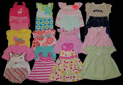 Baby Girl 0/3 Months Summer Outfits Clothes Lot Free Ship!