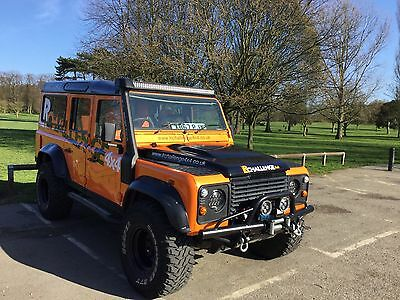 Land Rover Defender Custom LED light Bar Set With Brackets 500 Watt 52'' 46000 L