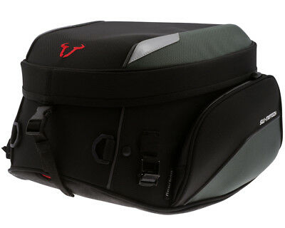 Tail bag motorcycle bag Rearbag, 1680 Ballistic nylon, black, 24-36 l.