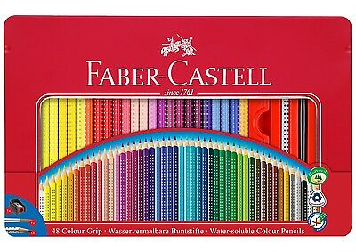 Faber-Castell Buntsitfte Color GRIP 48er Metallbox