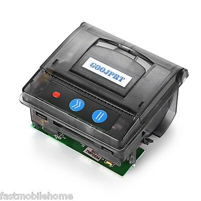 New Mini Catering retail Embedded Receipt Thermal Printer POS New Black