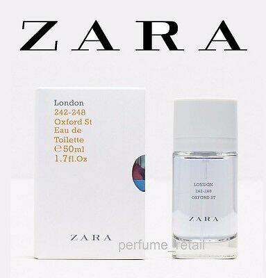 ZARA TEEN BOY - LONDON EAU DE TOILETTE Boys FRAGRANCE - NEW BOXED 50ml