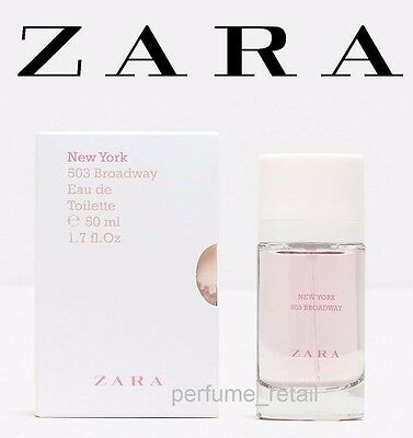 ZARA TEEN GIRL - NEW YORK EAU DE TOILETTE Grils FRAGRANCE - NEW BOXED 50ml