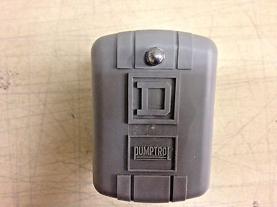 Square D Pumptrol Pressure Switch, 9013FSG2J21, Pre-set 30 On 50 Off