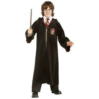 Harry Potter Costumes Kids Premium Hooded Robe Gryffindor Deluxe Fancy Dress
