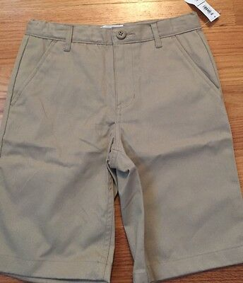 Boys Kids Old Navy Khaki Bermuda Shorts Size 8 New With Tags!