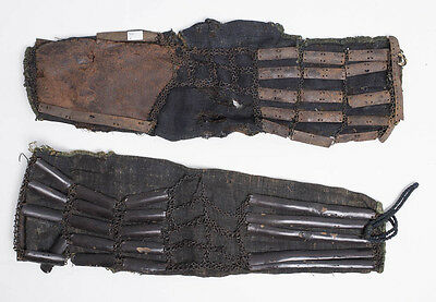 a pair of Shoulder sleeves (kote)date:17th century (edo period or earlier)size;2