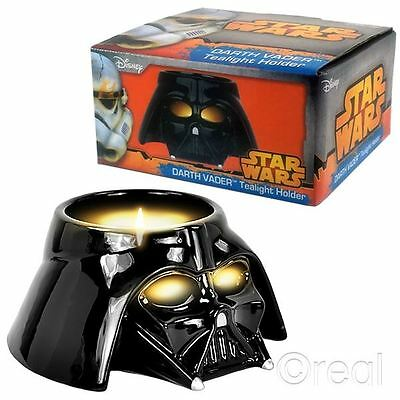 New Star Wars Darth Vader Helmet Tea Light Holder Candle Official