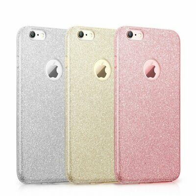 Pour iPhone 6/7/8 Plus/XR - Coque brillante Rose  Paillette Sillicone Elegant