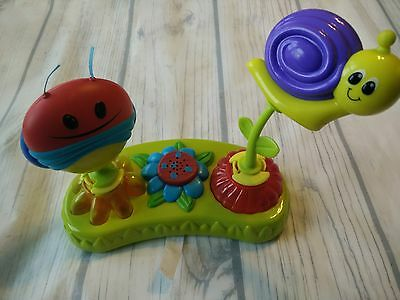 Evenflo Exersaucer Replacement Music Lights Pod Toy Interactive Switch A Roo Bug