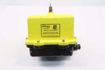 Worcester 10I 75W120A N2381 Flowserve Series 75 Electric Valve Actuator