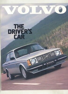 1980 Volvo DL GT GL GLE Bertone Coupe Sedan Station Wagon Brochure my7168